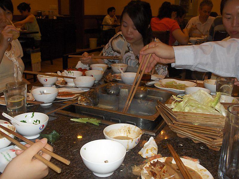 Hot Pot Birthday Dinner 009